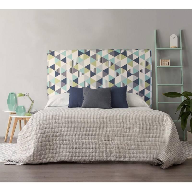 Cabeceros tapizados en tela trendy etiquetas cabeceros tapizados ideas para dormitorios - Cabeceros tapizados tela ...