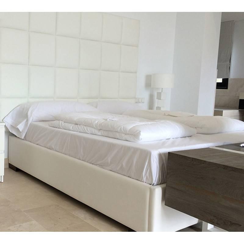 Cama Tapizada + Base tapizada 3D