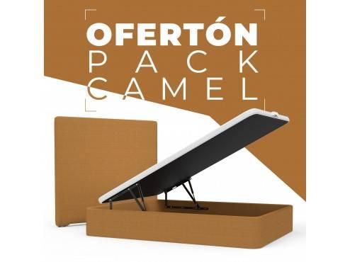 PACK CAMEL (CABECERO + CANAPÉ)