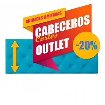OUTLET CABECEROS TAPIZADOS CORTOS