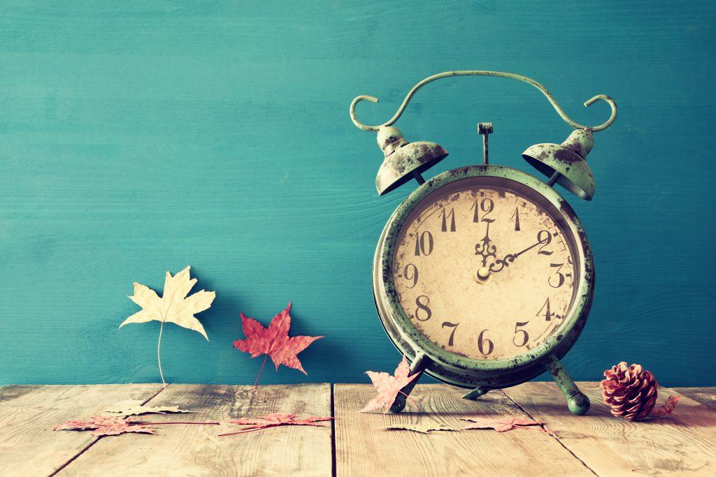 ajuste cambio horario otoño