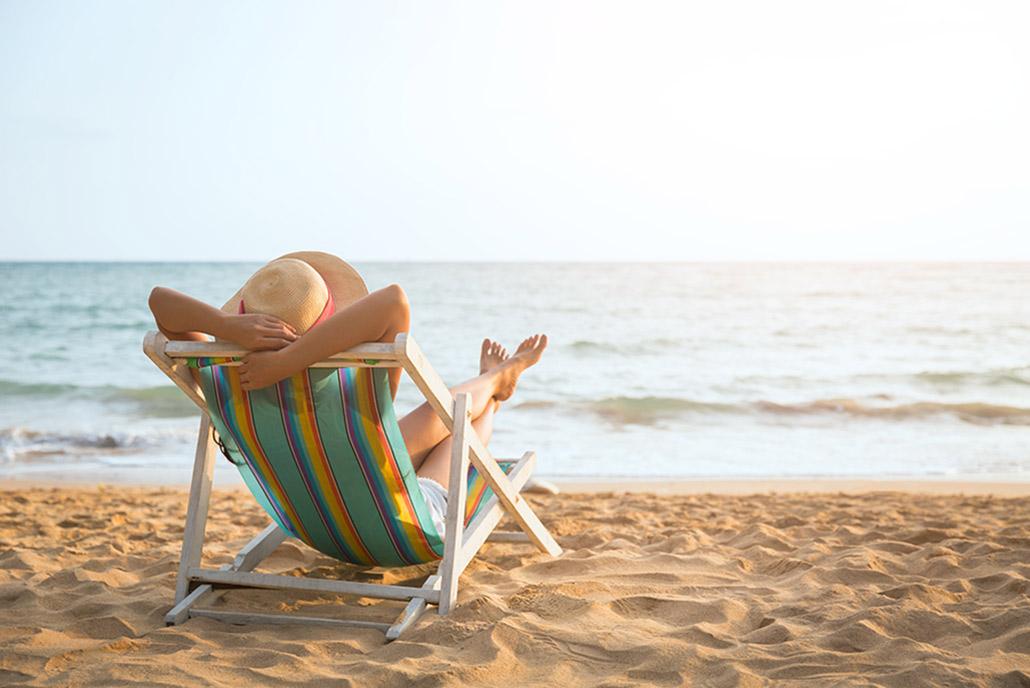 verano vacaciones y dormir