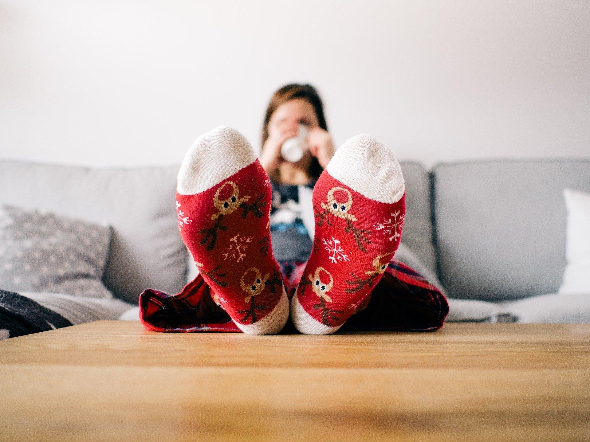 calcetines para dormir