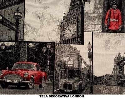 TELA DECORATIVA LONDON