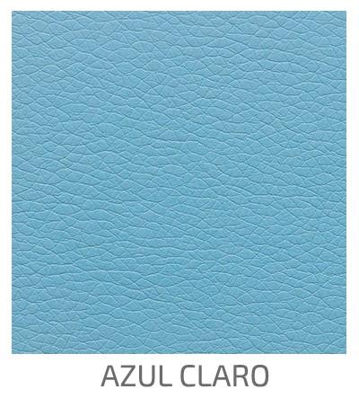Polipiel Azul Claro - 3D Negro